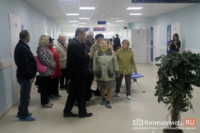 Кинешемских ветеранов ознакомили с работой отремонтированной поликлиники им. Захаровой фото 16