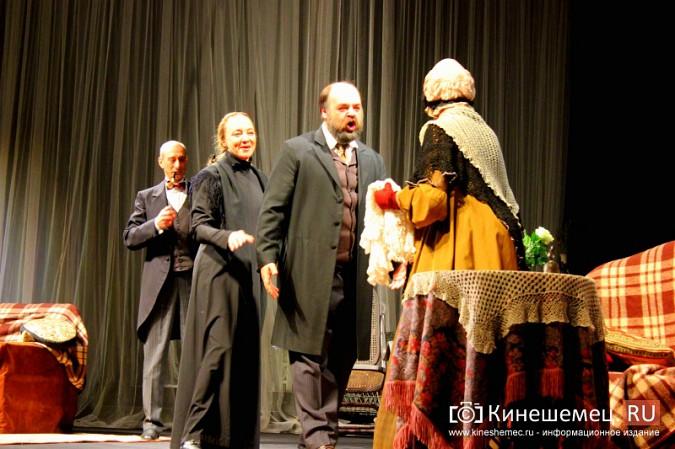 «Волки и овцы» «Мастерской П.Фоменко» два дня собирали в Кинешме полные залы фото 9