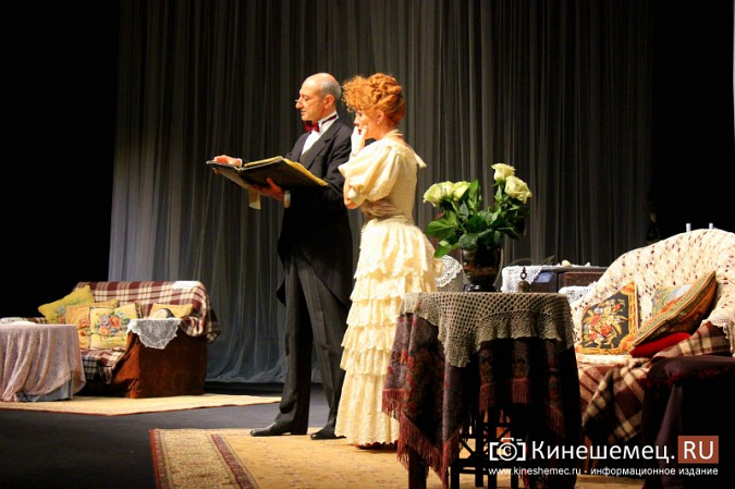 «Волки и овцы» «Мастерской П.Фоменко» два дня собирали в Кинешме полные залы фото 7