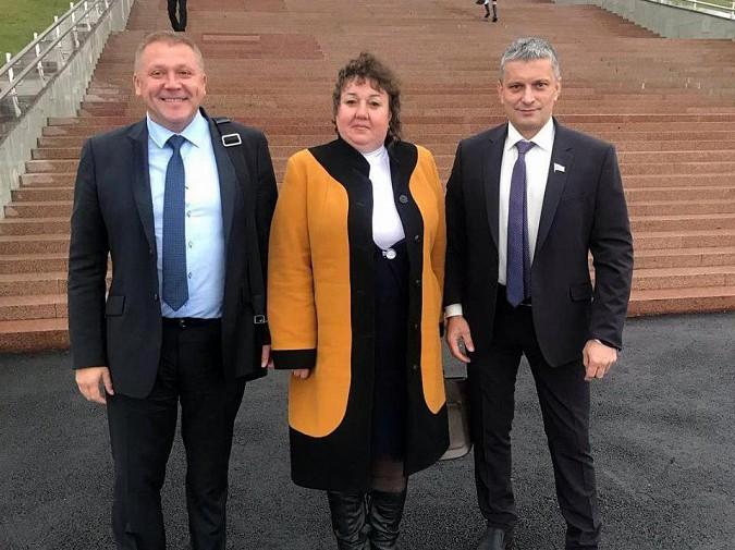 Кинешемский депутат С.Анисимова поехала на инаугурацию владимирского губернатора фото 2