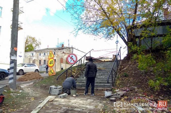В центре Кинешмы завершается ремонт лестниц фото 10