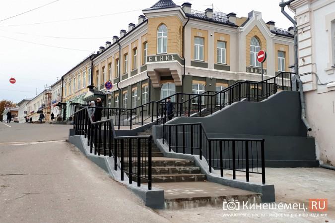 В центре Кинешмы завершается ремонт лестниц фото 2