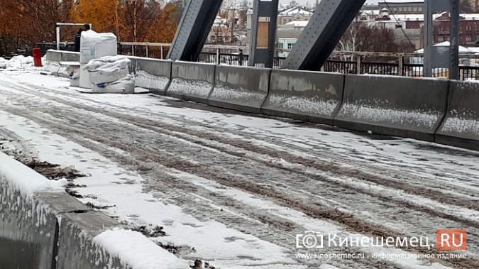 Укладка гидроизоляции на Никольском мосту: в снег при помощи горелки фото 5
