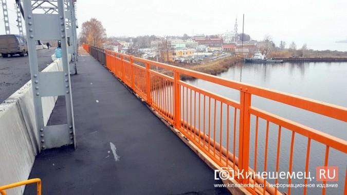 Кинешемский Никольский мост заиграл оранжевыми красками фото 10