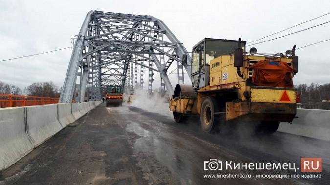 На Никольском мосту завершено асфальтирование проезжей части фото 2