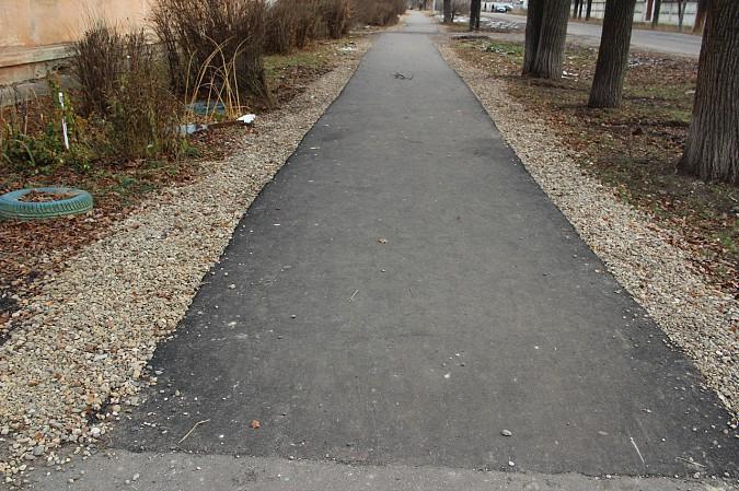 В Кинешме заасфальтировали тротуар к школе №10 фото 4