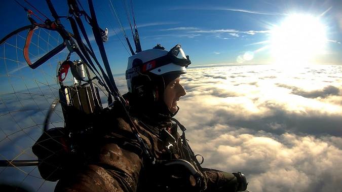 Кинешемский парапланерист взмыл над облаками и поделился впечатлениями фото 2