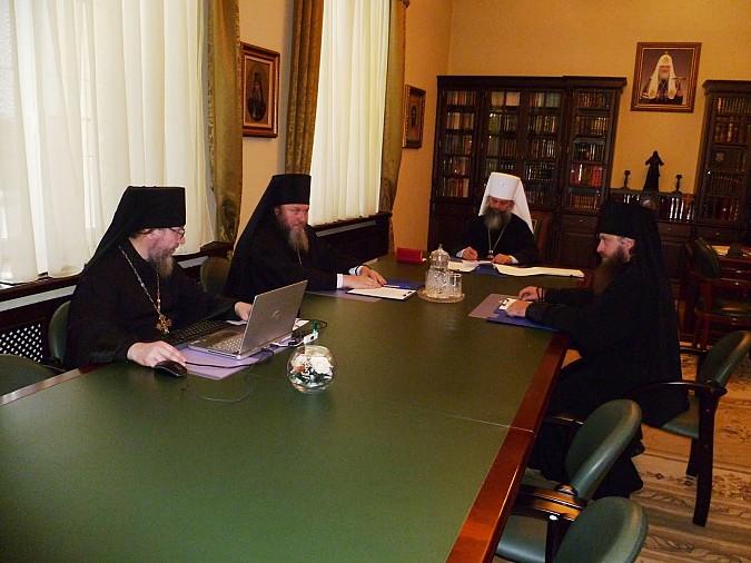 В заседании Архиерейского совета принял участие Кинешемский епископ Иларион фото 2