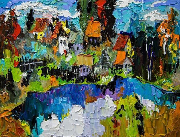 Кинешемский художник Евгений Трофимов победил на областном конкурсе пейзажа фото 2