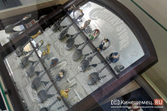 Кинешемцам показали необыкновенную коллекцию ложек фото 3