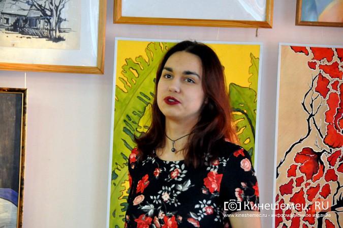 В Кинешемской художественной школе открылась выставка выпускников фото 7