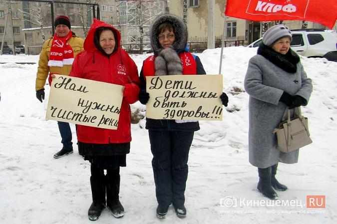 Денис Петров вышел к митингующим против заволжского могильника химотходов фото 4