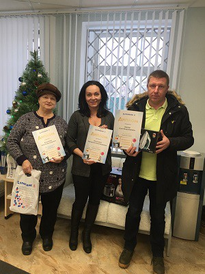 Награждение в операционном офисе «Ярославский»
