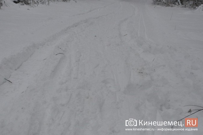 В кинешемском бору целый день вытаскивали из снега «УАЗ», испортивший лыжные трассы фото 3