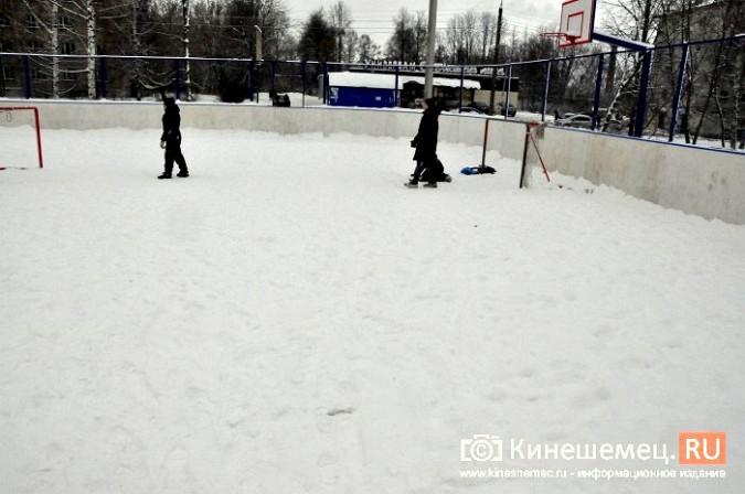 Некоторые катки Кинешмы так и остались предновогодними обещаниями чиновников фото 8