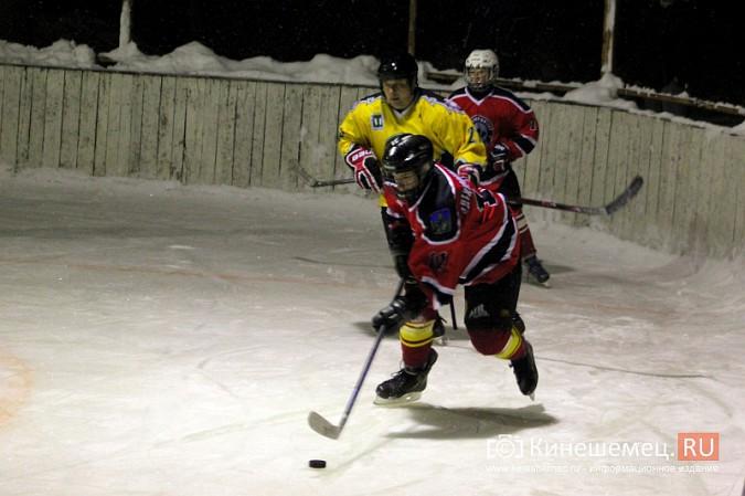 В хоккейном дерби Кинешмы забросили 25 шайб фото 4
