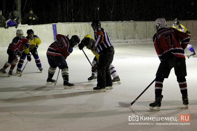 В хоккейном дерби Кинешмы забросили 25 шайб фото 10
