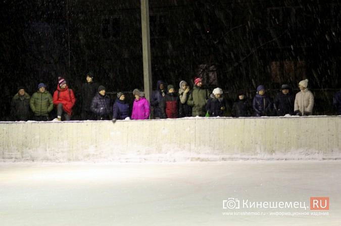 В хоккейном дерби Кинешмы забросили 25 шайб фото 9