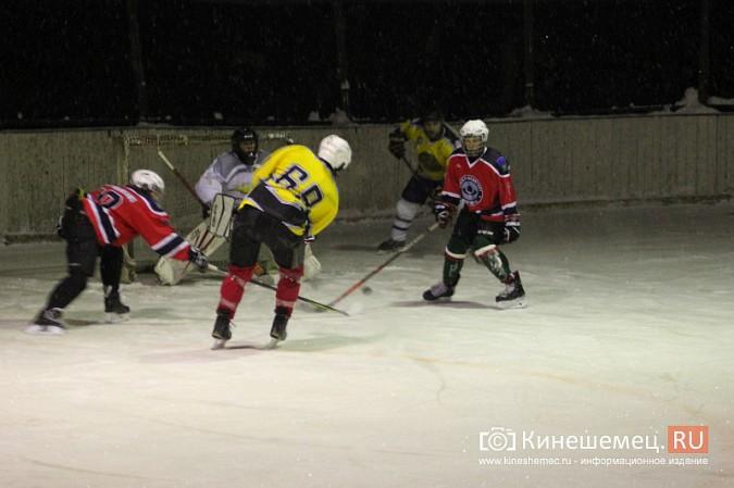 В хоккейном дерби Кинешмы забросили 25 шайб фото 8