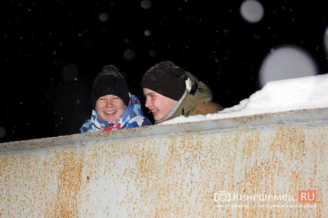 В хоккейном дерби Кинешмы забросили 25 шайб фото 30