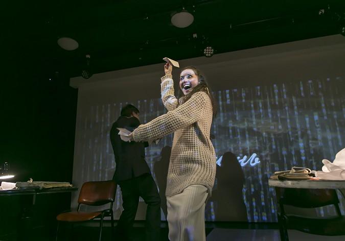 В Кинешемском театре премьера - «Письма любви» по  пьесе А. Герни фото 6