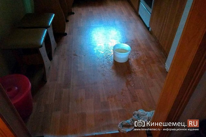 В Кинешме квартиру матери ветерана боевых действий заливает водой фото 2