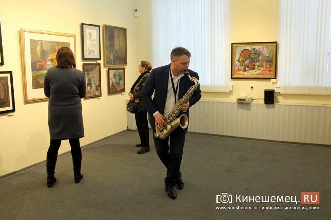 В кинешемской картинной галерее открылась выставка «Натюрморт. Интерьер» фото 10