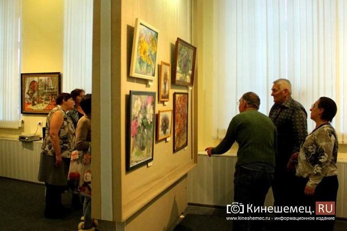 В кинешемской картинной галерее открылась выставка «Натюрморт. Интерьер» фото 8