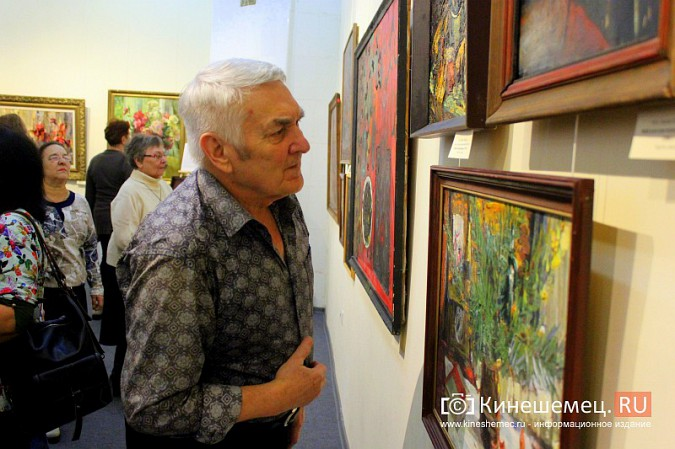 В кинешемской картинной галерее открылась выставка «Натюрморт. Интерьер» фото 9