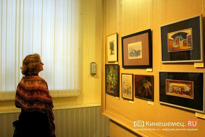 В кинешемской картинной галерее открылась выставка «Натюрморт. Интерьер» фото 6