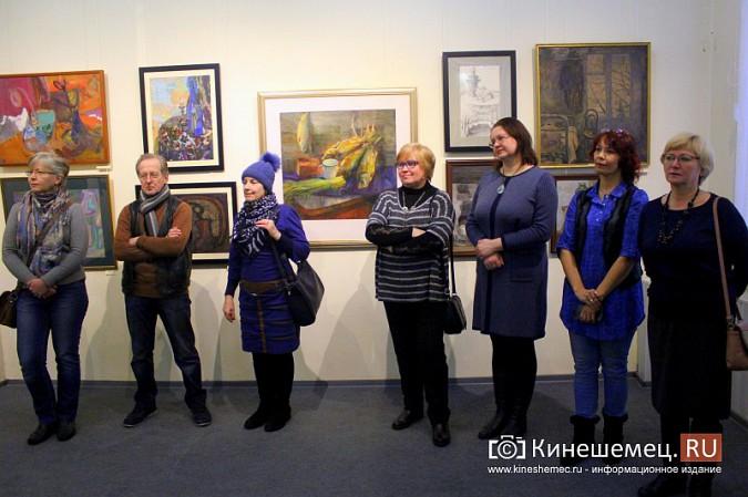 В кинешемской картинной галерее открылась выставка «Натюрморт. Интерьер» фото 12