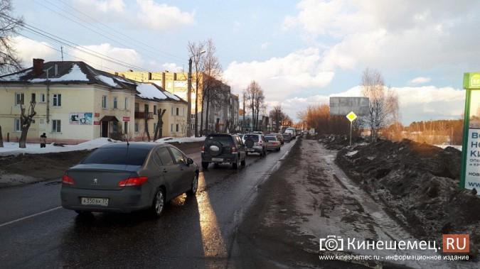 Из-за аварии на улице Вичугской Кинешма встала в огромную пробку фото 7