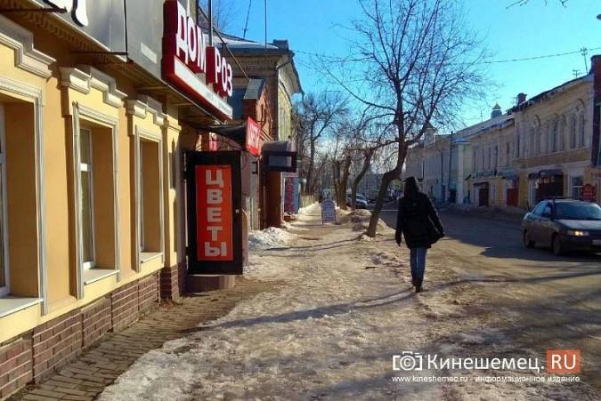 Кинешма в «лидерах» региона по жалобам на уборку снега, наледь и сосульки фото 17