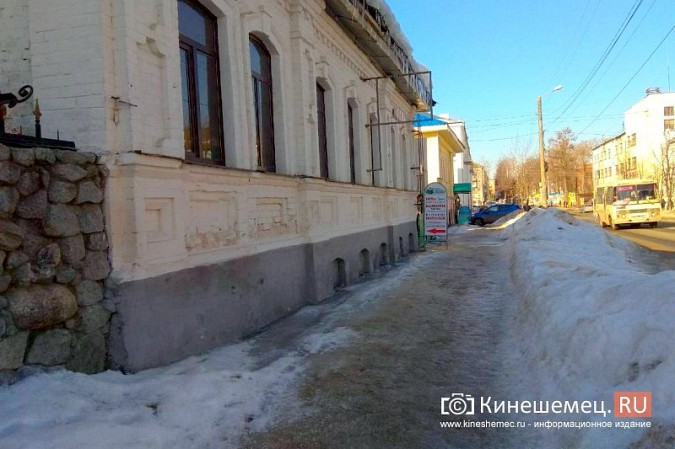 Кинешма в «лидерах» региона по жалобам на уборку снега, наледь и сосульки фото 6