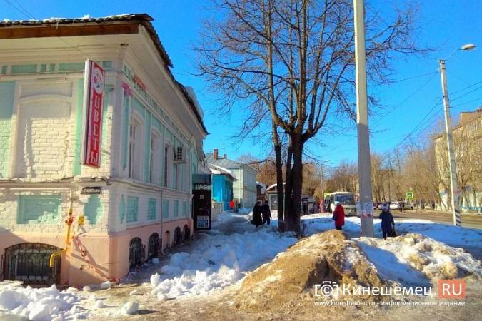Кинешма в «лидерах» региона по жалобам на уборку снега, наледь и сосульки фото 9