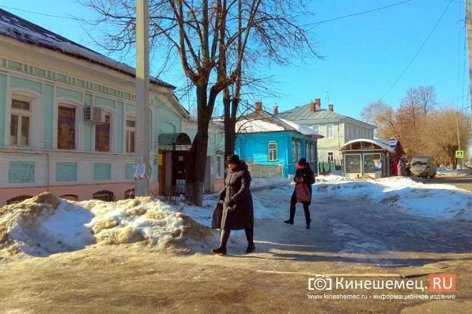 Кинешма в «лидерах» региона по жалобам на уборку снега, наледь и сосульки фото 3