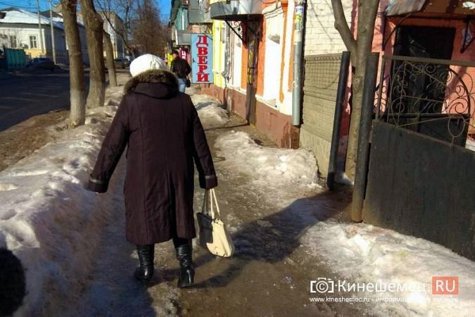 Кинешма в «лидерах» региона по жалобам на уборку снега, наледь и сосульки фото 4