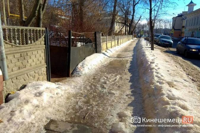 Кинешма в «лидерах» региона по жалобам на уборку снега, наледь и сосульки фото 11