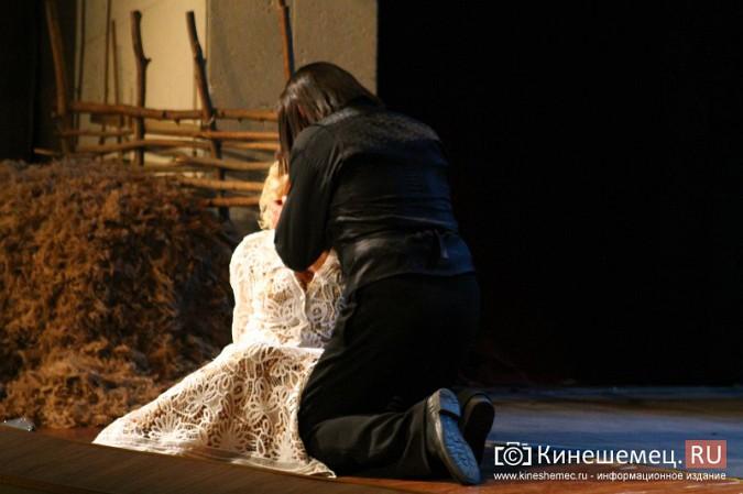 Тверской театр привез в Кинешму спектакль «Отцы и дети» фото 43