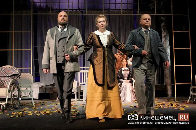 В пятый день фестиваля «Горячее сердце» в Кинешме зрители увидели чеховскую «Чайку» фото 12