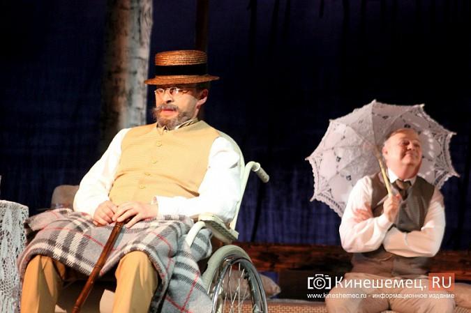В пятый день фестиваля «Горячее сердце» в Кинешме зрители увидели чеховскую «Чайку» фото 8