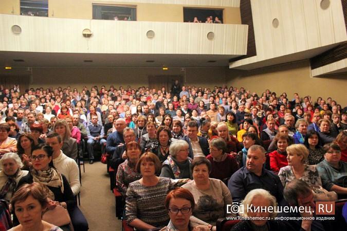 Московский театр Калягина показал кинешемцам «Сердце не камень» фото 4
