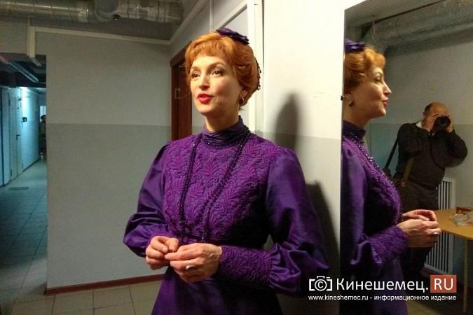Московский театр Калягина показал кинешемцам «Сердце не камень» фото 6