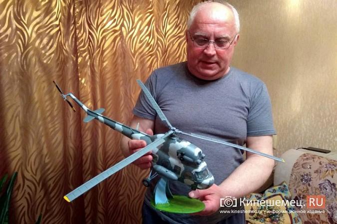 Бывший пилот из Кинешмы конструирует дома вертолеты фото 12