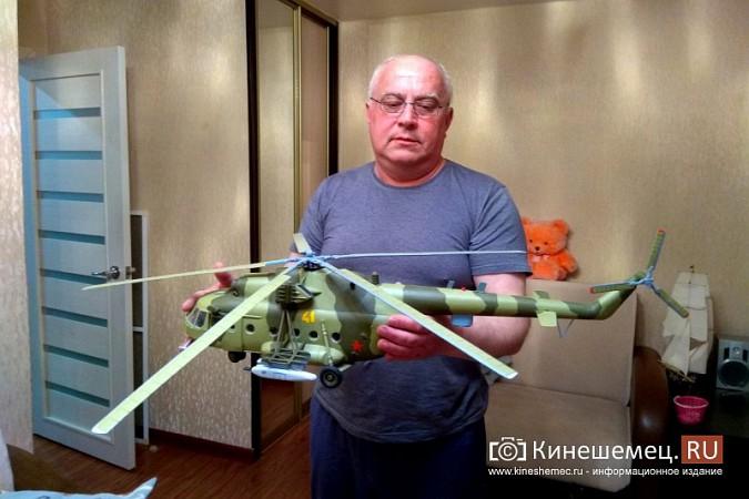 Бывший пилот из Кинешмы конструирует дома вертолеты фото 7