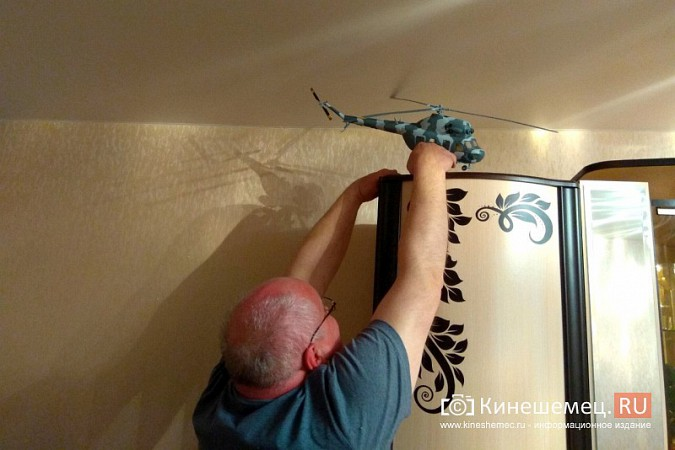 Бывший пилот из Кинешмы конструирует дома вертолеты фото 13