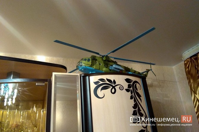 Бывший пилот из Кинешмы конструирует дома вертолеты фото 14
