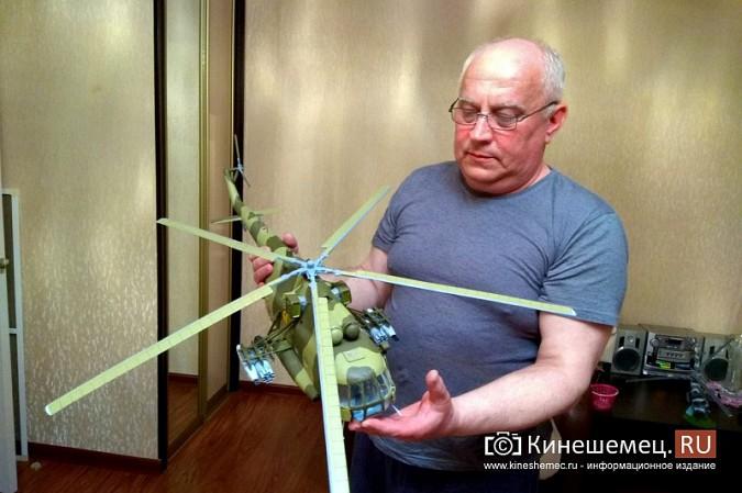 Бывший пилот из Кинешмы конструирует дома вертолеты фото 8
