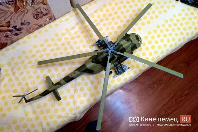 Бывший пилот из Кинешмы конструирует дома вертолеты фото 9