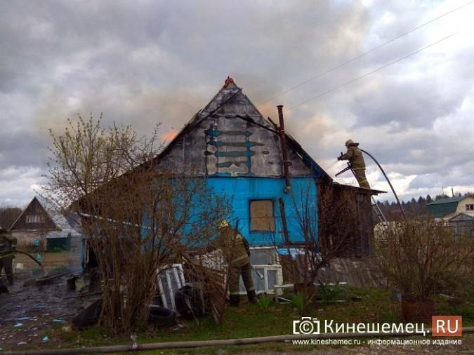 В Кинешемском районе сгорел садовый домик фото 3